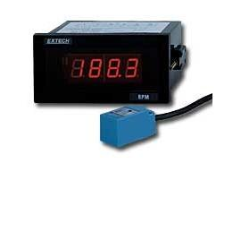 Extech 461950-NIST Panel Tachometer with NIST Traceable Certificate, 1/8 DIN