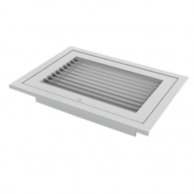 Titus 350RLF1 Return Air Grill Assembly 24X24