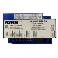 Flynn Burner 407597 Dual Rod Flame Relay Ignition Module 120 VAC