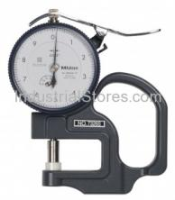 Mitutoyo 7304S Thickness Gauge Dial Flat Standard 0-1.0""