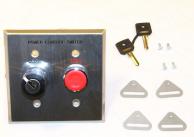 Asco 173C17 Push Button Switch Key Operated