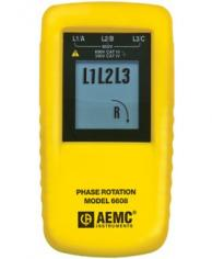 AEMC 2121.1 6608 Phase Rotation Meter 15 To 400Hz