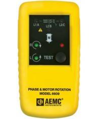 AEMC 2121.11 6609 Rotation Meter 3-Phase Pr-1 100-600Vac