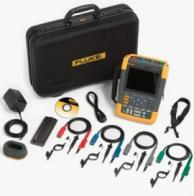 Fluke 190-104-AMS Scopemeter 100 Mhz With 4-Channel Scc Kit