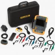 Fluke 190-104-AMS Scopemeter 100 Mhz With 4-Channel Scc Kit