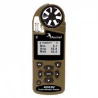 Kestrel 0840BNVTAN Series 4000NV Weather Tracker with Density Altitude, Night Vision & Bluetooth