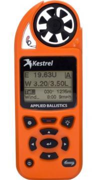 Kestrel Elite Weather Meter with Applied Ballistics, Blazed Orange