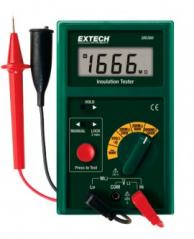 Extech 380360-NIST Digital Megohmmeter with NIST Traceable Certificate, 1000V