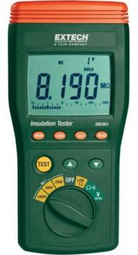 Extech 380363 Digital High Voltage Insulation Tester, 10MΩ