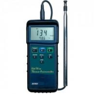 Extech 407123 Heavy Duty Hot Wire Thermo-Anemometer with Telescoping Probe