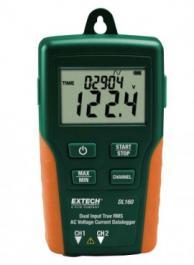 Extech DL160 True RMS Dual Input AC Voltage/Current Datalogger