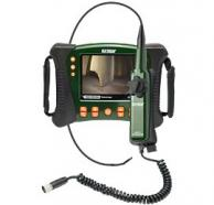 Extech HDV640 HD VideoScope Inspection Camera with Articulating Transmitter/Probe