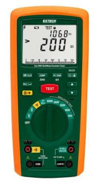 Extech MG325 Insulation Tester/True RMS Multimeter with Datalogger, 200GΩ/1000V, CAT IV