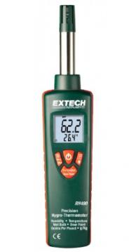 Extech RH490 Precision Hygro-Thermometer, 0 to 100%RH