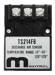 Maxitrol TS214FB Dual Temperature Sensor 40-80F/120-170F