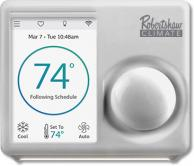 Robertshaw RS7110 Color Touchscreen Thermostat 1H/1C