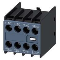 Siemens 3RH2911-1GA04 Auxiliary Switch 4NC for S00 Screw
