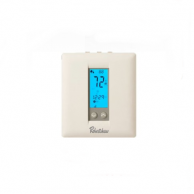 Robertshaw RS332NE Slimline Premier Digital Non-Programmable Thermostat with Economizer